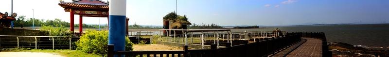 Fortress E-005B 據點, Ying Shan Miao 鶯山廟 Panorama